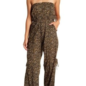 Tiare Hawaii Osaka Strapless Back-Tie Jumpsuit S/M